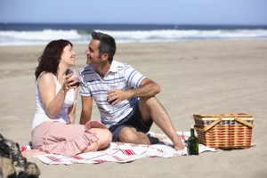 budget dating strand picknick